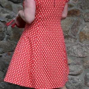STERNO rot kurz Kleid 894 727